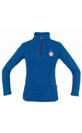 Red Horse Fleece Pully, Cobalt
