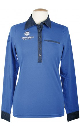 Shirt RHA Cobalt, dazzling...