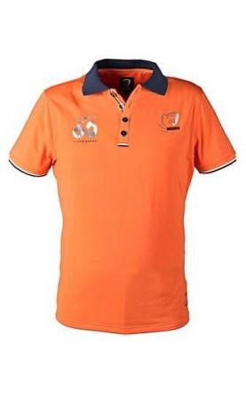 Horka herenpolo Solid, Oranje